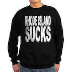 Rhode Island Sucks Sweatshirt (dark)