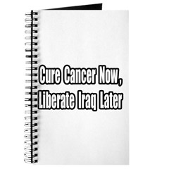 """Cancer Now, Iraq Later"" Journal"