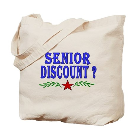 Senior Moments Tote Bag