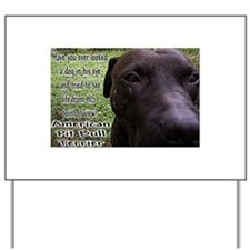 """""""Point of View"""" Yard Sign"""