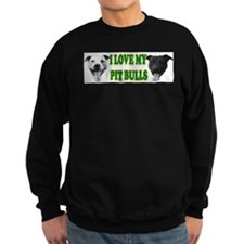 I Love My PBs (green) Sweatshirt