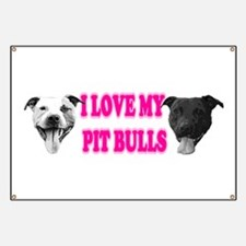 I Love My PBs (pink) Banner