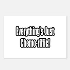 """""""Everything's...Chemo-riffic"""" Postcards (Package o"""