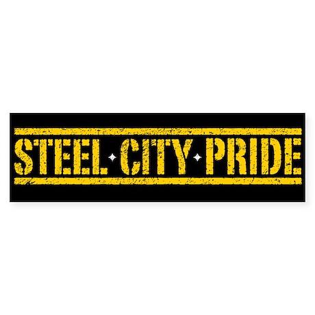 STEEL CITY PRIDE Bumper Sticker (10 pk)