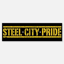 STEEL CITY PRIDE Bumper Bumper Bumper Sticker