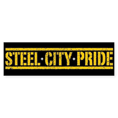 STEEL CITY PRIDE Bumper Sticker