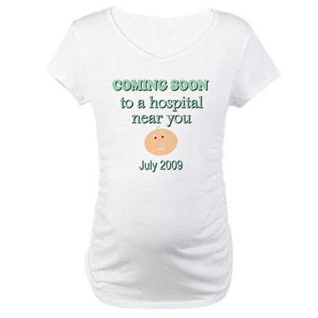 Jul 09 Maternity T-Shirt