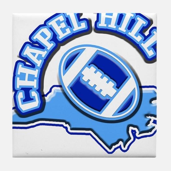 Chapel Hill Football Tile Coaster