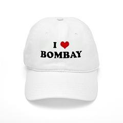 I Love BOMBAY Baseball Cap
