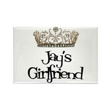 Jay's Girlfriend Rectangle Magnet