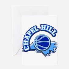 Chapel Hill Basketball Greeting Card