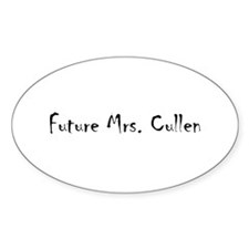 Future Mrs. Cullen Oval Decal