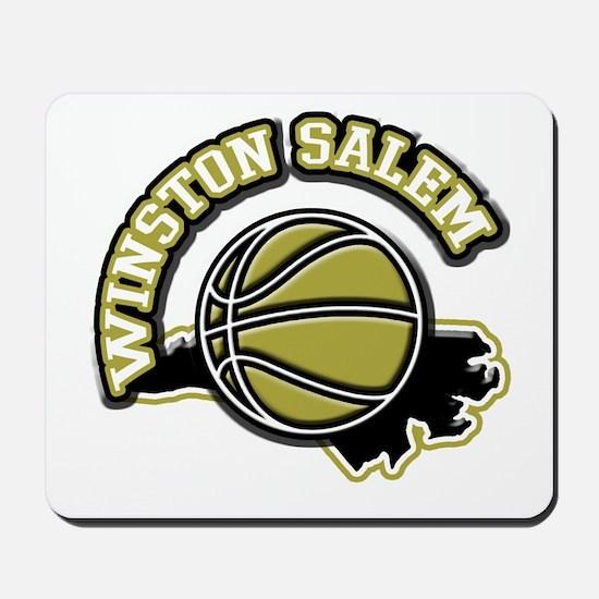 Winston Salem Basketball Mousepad