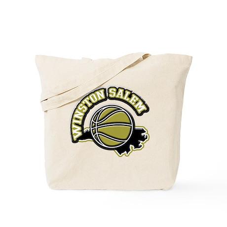 Winston Salem Basketball Tote Bag