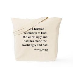 Nietzsche 35 Tote Bag