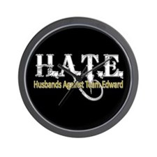 HATE - Husbands Against Team Wall Clock