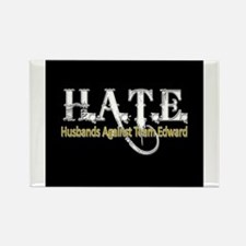 HATE - Husbands Against Team Rectangle Magnet