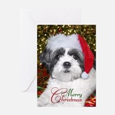 Christmas Shih Tzu Greeting Cards (Pk of 20)