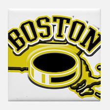 Boston Hockey Tile Coaster