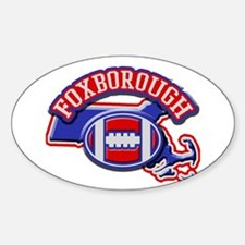 Foxborough Football Oval Decal