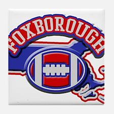 Foxborough Football Tile Coaster