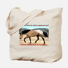 Appaloosa Far Tote Bag