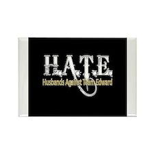 HATE - Husbands Against Team Rectangle Magnet