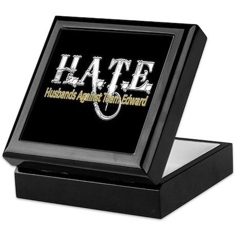 HATE - Husbands Against Team Keepsake Box