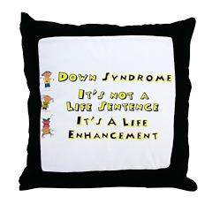 Life Enhancement Throw Pillow