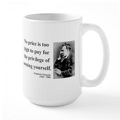 Nietzsche 36 Large Mug