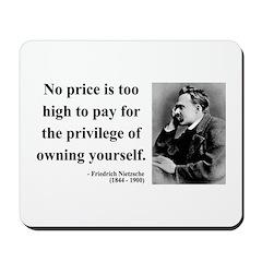 Nietzsche 36 Mousepad