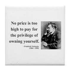 Nietzsche 36 Tile Coaster