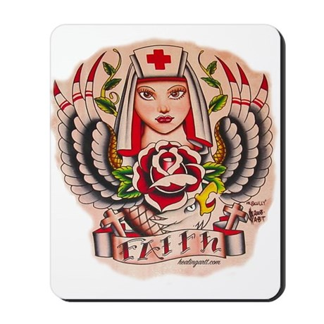 Nurse Faith Mousepad