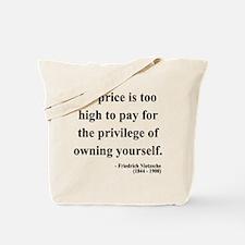 Nietzsche 36 Tote Bag