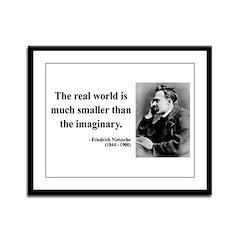 Nietzsche 37 Framed Panel Print