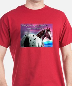 Purple Sky Leopard Appaloosa T-Shirt