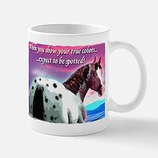 Purple Sky Leopard Appaloosa Mug