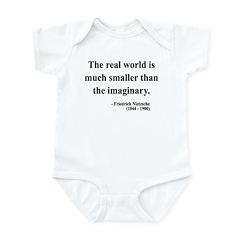 Nietzsche 37 Infant Bodysuit