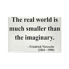 Nietzsche 37 Rectangle Magnet (100 pack)