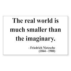 Nietzsche 37 Rectangle Decal
