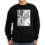 Obama & Aliens Sweatshirt (dark)
