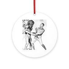Obama & Aliens Ornament (Round)