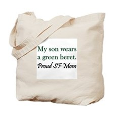 Green Beret Mom Tote Bag