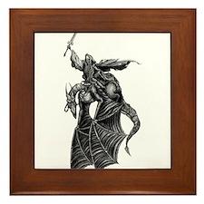 Knight Terror Framed Tile