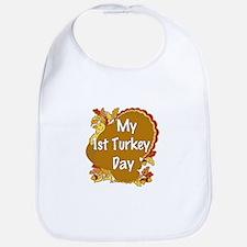 1st Turkey Day Bib