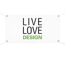 Live Love Design Banner
