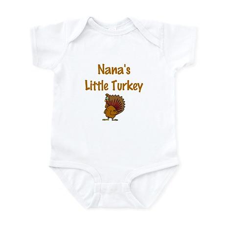 Nana's Little Turkey Infant Bodysuit