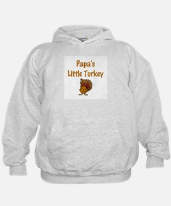 Papa's Little Turkey Hoodie