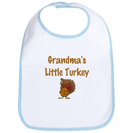 Grandma's Little Turkey Bib