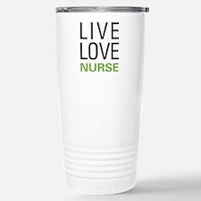 Live Love Nurse Travel Mug